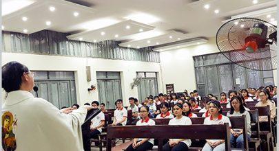 Sinh viên công giáo Alfonso Thái Hà hoạt động trở lại và lời mời gọi được sai đi!- gia đình sinh viên công giáo Y Dược