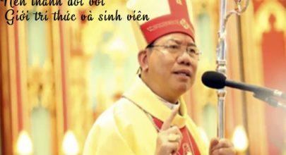nên thánh đối với giới tri thức và sinh viên