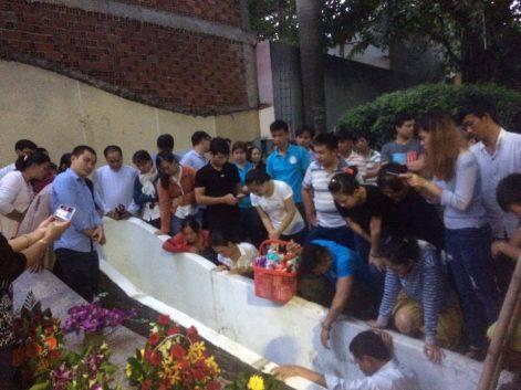 thai nhi- thánh lễ an táng