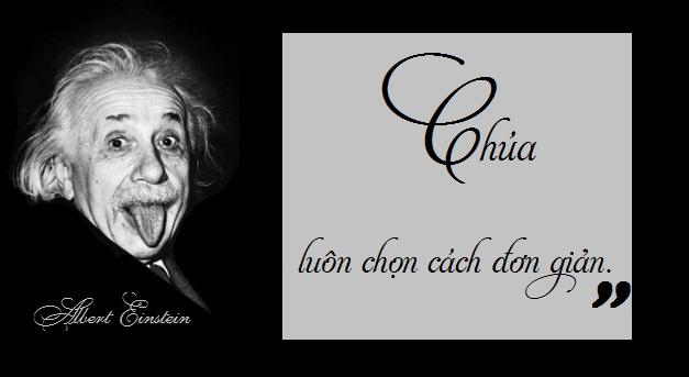 Niềm tin vào Chúa và tôn giáo của nhà khoa học Einstein