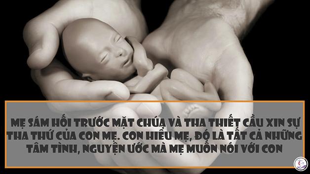 Nỗi lòng của người mẹ phá thai- Mẹ xin lỗi con- Nỗi lòng của những người phá thai