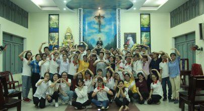 bầu ban điều hành- gia đình sinh viên công giáo y dược