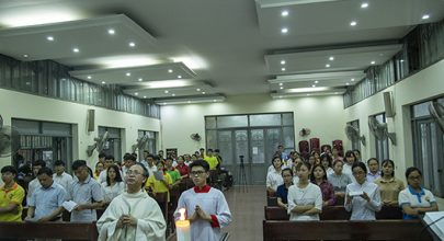 các tổng lãnh thiên thần- sinh viên công giáo hưng hóa