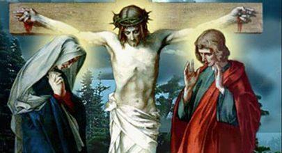 Này là Mẹ con, đứng gần thập giá, lễ mẹ sầu bi, suy niệm lễ đức mẹ