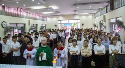 thánh lễ khai giảng, thánh lễ khai giảng của cộng đoàn vinh hà tĩnh