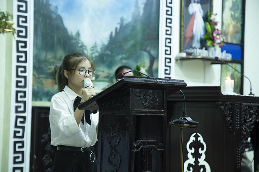 Thiên Chúa - sinh viên công giáo Bùi chu