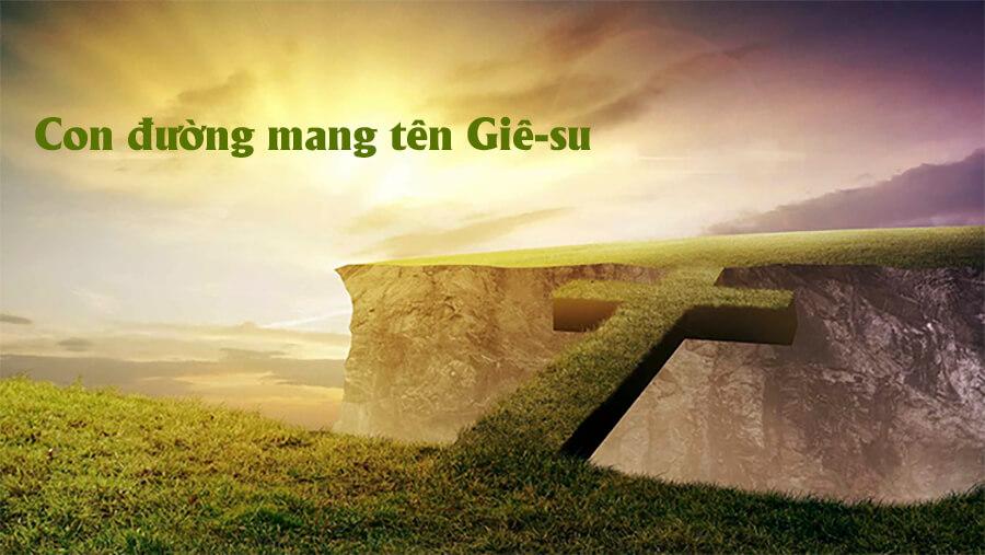 con đường Giê-su