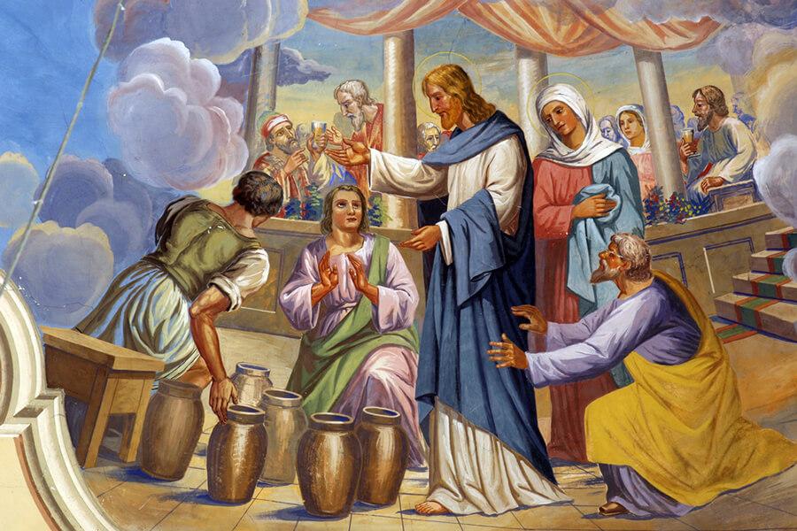 Chúa Giêsu làm phép lạ