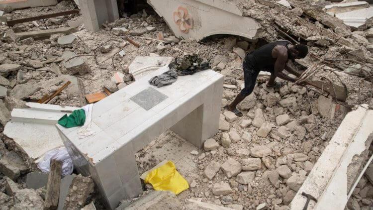 Động đất tại Haiti