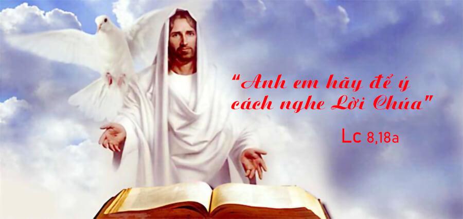 Để ý đến cách nghe Lời Chúa