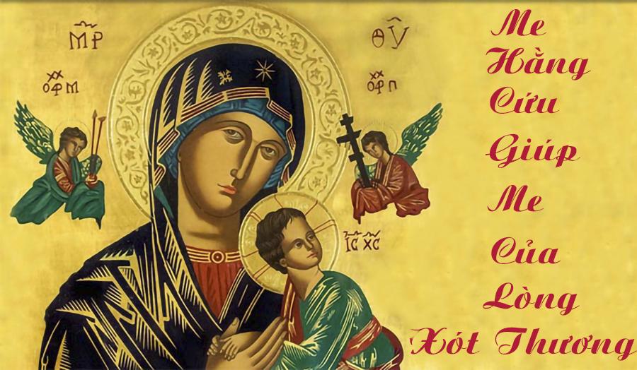 Mẹ Hằng Cứu Giúp - Mẹ của lòng xót thương