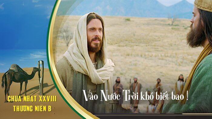 Vào Nước Trời khó biết bao !